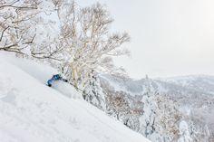 Team rider Lena Stoffell finding fresh powder in Japan #ROXYsnow