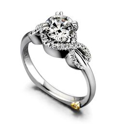 I want this engagement ring! solitaire diamond & the infinity symbol  wedding-plans