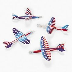 Patriotic Printed Gliders (4 Dozen) - Bulk, 2015 Amazon Top Rated Airplane Construction Kits #Toy