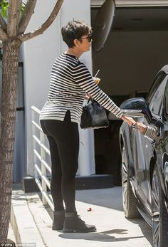 Hitting the shops: Kris Jenner was enjoying some retail therapy on Monday after the party