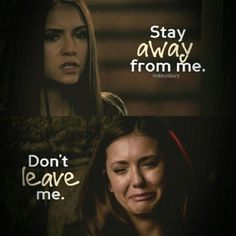 Elena And her relationship with Damon in season1