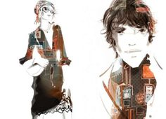 French Fashion Illustrations : Sophie Griotto