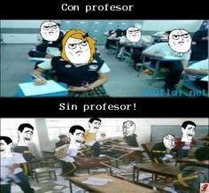 Memes en Español: En la escuela Funny Spanish Memes, Spanish Humor, Mexican Memes, Best Memes Ever, Drama Memes, Internet Memes, Funny Messages, Funny Images, Laughter