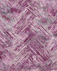 Herringbone Brushstroke Batik - Boysenberry