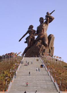 African Renaissance Monument west Africa Dakar