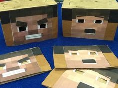 Activity of the Week:  Minecraft Emotions - pinned by @PediaStaff – Please Visit  ht.ly/63sNt for all our pediatric therapy pins