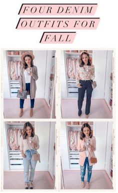 How to style Skinny Jeans, Mom Jeans, Trouser Jeans and Distressed jeans