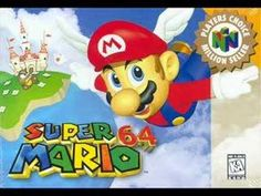 """Super Mario 64 was developed and published by Nintendo. The soundtrack was composed by Koji Kondo. Tracklist: """"It's a me, Mario! Super Mario Bros, Play Super Mario, Nintendo 64 Games, Nintendo N64, Super Nintendo, Nintendo Switch, Donkey Kong, Game Boy, Gi Joe"""