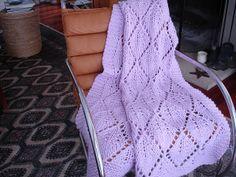 Pinkie Blankie-knit pattern
