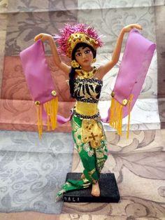 Bali Dancing Woman Doll