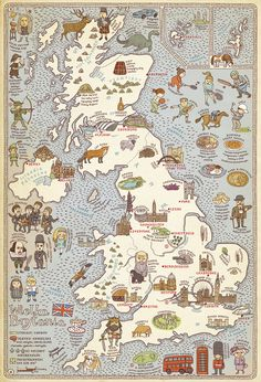 This map is a cool guide to the uk