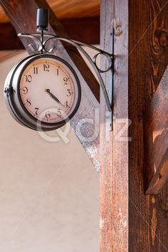 Qdiz Stock Photos   City street clock,  #Circle #City #Clock #Clockworks #old #Old-fashioned #retro #Street #Time #vintage #Working
