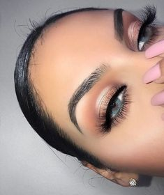 Soft rosy smokey eye makeup tutorial « beauty my Smokey Eye Makeup Tutorial, Eye Makeup Tips, Makeup Goals, Skin Makeup, Makeup Inspo, Makeup Inspiration, Makeup Brushes, Day Eye Makeup, Bronze Eye Makeup