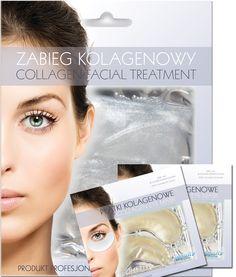 SUPER OFFER SET  Brightening collagen face mask + 2 pcs eye collaen patch - only 19,90 PLN