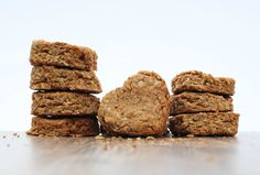 Peanut Butter & Oats Dog Cookies