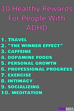 Hacking Dopamine and ADHD 10 Healthy Rewards for People WIth ADHD