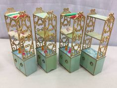 VINTAGE-IDEAL-PETITE-PRINCESS-BATHROOM-LOT-TUB-HAMPER-TOILET-SHELF