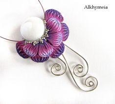 Chrome Flower in Purple by *Alkhymeia on deviantART