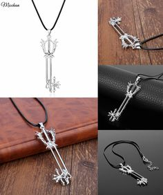 Delicious Kingdom Hearts 2 Ii Metal Sora Metal Keyblade Keychain Pendant Necklace Weapons Collections Set+box Costumes & Accessories Costume Props