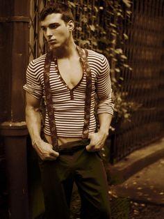 sweater, suspenders http://findanswerhere.com/mensfashion