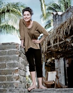 "Ava Gardner in ""The Night of the Iguana"" directed by John Huston, 1964 http://www.pinterest.com/littleaugury/goddess/"