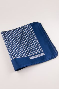 Daniel Bruce: Made in Italy Tulips Pocket Square  Available at www.dibities.com