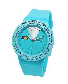 Şeker gibi renkler! Atop'un yeni saatlerine bakmadan geçmeyin! http://www.atoptimezone.com/World-Time-Kol-Saatleri/VWA-14  #yeni #atoptimezone #atopsaat