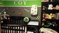 Sports baby nursery