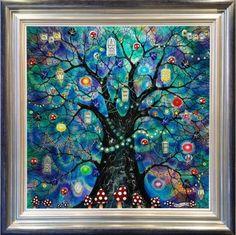Kerry Darlington - Fairy Lights - Landscape - The Original Art Shop Art and Framing