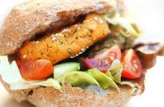 Baked Veggie burger Buffet - Sweet Potato, Black Bean and Chick Pea Burgers