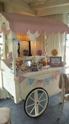 Handmade Candy Cart