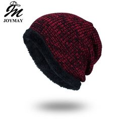 305760ba89ab4 Joymay Winter Beanies Solid Color Hat Unisex Plain Warm Soft Skull Knitting   fashion  clothing