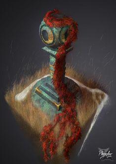 Pillar Digital art / Colonne en 2D by Phenglar on DeviantArt 2d, Fantasy Art, Digital Art, Deviantart, Nature, Movie Posters, Painting, Naturaleza, Fantastic Art