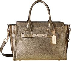 COACH Women's Metallic Coach Swagger 27 - http://bags.bloggor.org/coach-womens-metallic-coach-swagger-27/
