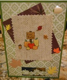 PUMPKINS FOR SALE Handcrafted Scrapbook by CraftyCrossStitches, $7.00