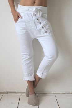 Perfect Jeans YOGA, White