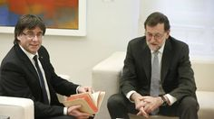 Rajoy y Puigdemont se vieron el 11 de enero en La Moncloa