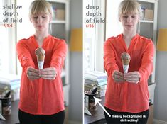 Creating a Shallow Depth of Field. Tutorial via Say Yes to Hoboken
