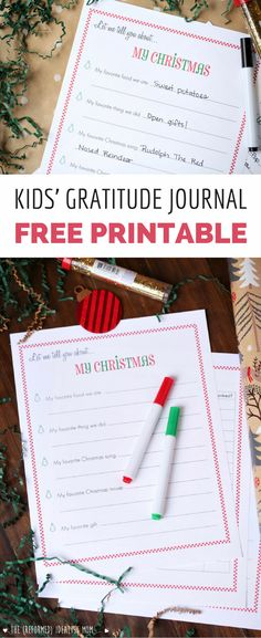 Worried your kids will be spoiled by all the gifts on Christmas morning? Use this free printable to nip entitlement in the bud this holiday season and end up with grateful kids. Such a fun activity for kids to do with parents, and it will foster gratitude too!