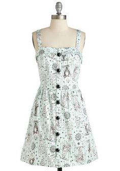 Let's Have a Look-Sea Dress