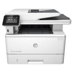 HP LaserJet Pro MFP M426fdn  — 29664 руб. —  HP LaserJet Pro M1214nfh MFP – многофункциональное устройство 4 в 1 (принтер-коппир-сканер-факс) для офисного применения.  Принтер поддерживает лазерную черно-белую печать, сканер планшетного типа имеет функцию автоматической подачи документов, копировальный аппарат черно-белый, факс имеет в комплекте трубку, так что устройство может использоваться и как телефон.  МФУ предназначено для регулярного использования, принтер может печатать до 8тыс…