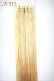 40 Pieces 18 Seamless Remy Tape in 100 Grams Hair Extensions #16/613 Ash Bleach Blonde Mix by MyLuxury1st. $98.99. SHIPS IN 6-10 BUSINESS DAYS; IF YOU CAN NOT WAIT, DO NOT ORDER!  CONTACT MYLUXURY1ST HAIR EXTENSIONS IF YOU HAVE ANY QUESTIONS!