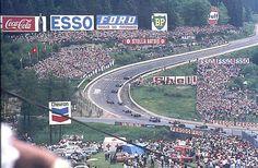 Start of the Belgian Grand Prix 1970 Porsche, Audi, F1 Racing, Road Racing, Belgian Grand Prix, Spa, Gilles Villeneuve, Race Tracks, The Golden Years