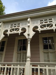 Gorgeous millwork on a Garden district New Orleans home #nola | photo by  Barbara Elza Hirsch  -Please like pin if you like it-it's for a contest, TY