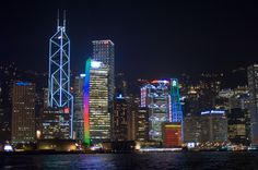 Hong Kong At Night      Photographer:	John Harvey