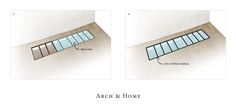 Installer un plancher en verre - deuxieme etape - Arch & Home