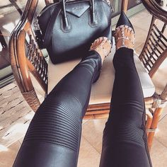 What girl doesn't want a pair of leather pants?