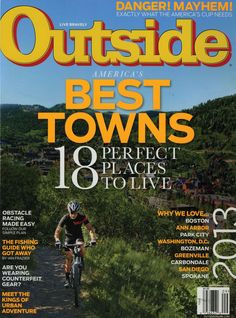 Outside magazine's America's Best Towns article