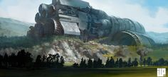 Crash by Alexander Forssberg | Sci-Fi | 2D | CGSociety