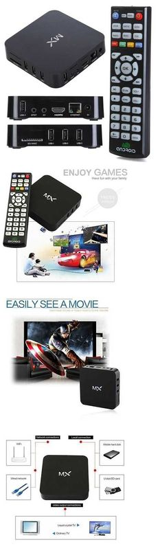 Cable TV Boxes: 1080P Wifi Hdmi Mx 2 Xbmc Kodi Dual Core Android 4.2 Smart Tv Box Media Player BUY IT NOW ONLY: $51.99